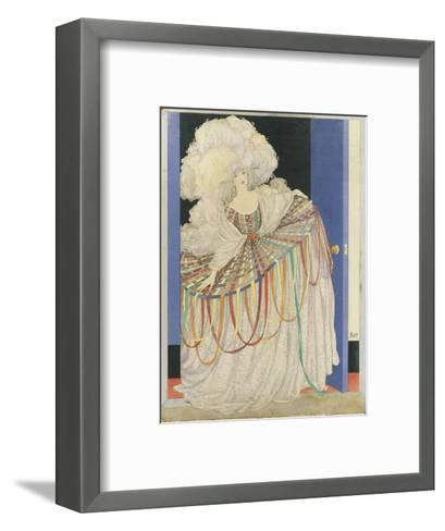 Vogue - May 1920-George Wolfe Plank-Framed Art Print