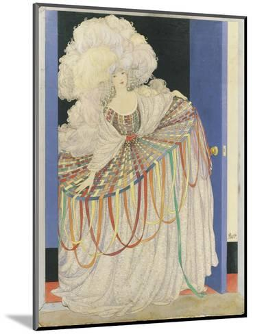 Vogue - May 1920-George Wolfe Plank-Mounted Premium Giclee Print