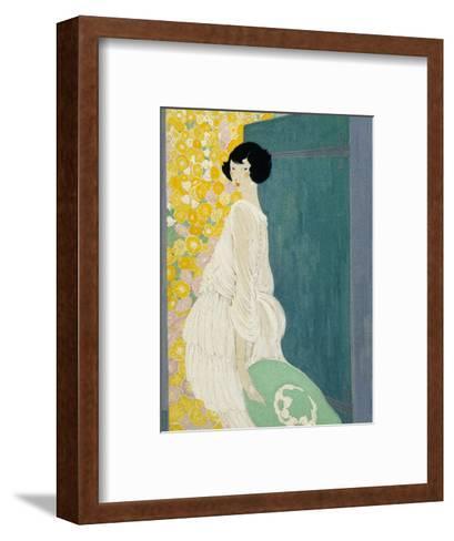 Vogue - May 1920-Helen Dryden-Framed Art Print