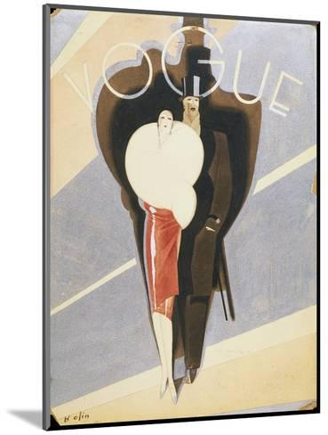 Vogue - November 1926-William Bolin-Mounted Premium Giclee Print