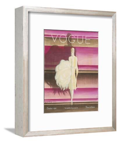 Vogue - October 1925-William Bolin-Framed Art Print