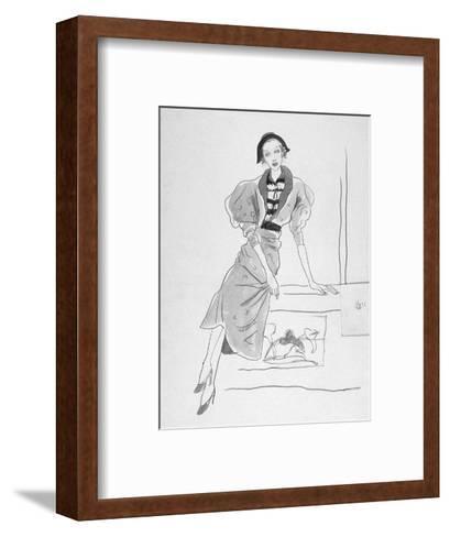 Vogue - March 1935-Cecil Beaton-Framed Art Print