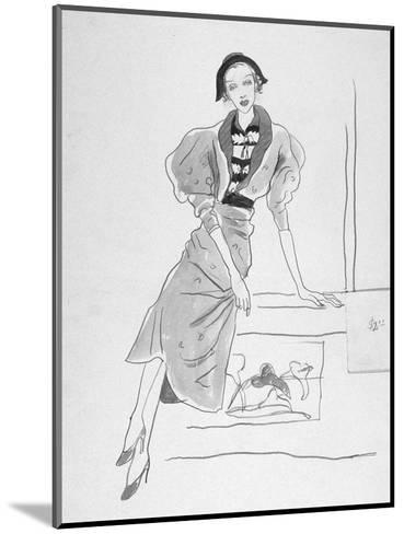 Vogue - March 1935-Cecil Beaton-Mounted Premium Giclee Print