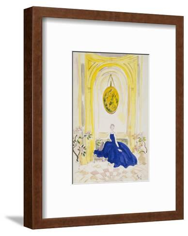 Vogue - May 1935 - Lady Mendl-Cecil Beaton-Framed Art Print