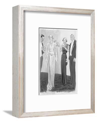 Vogue - September 1935-Eduardo Garcia Benito-Framed Art Print