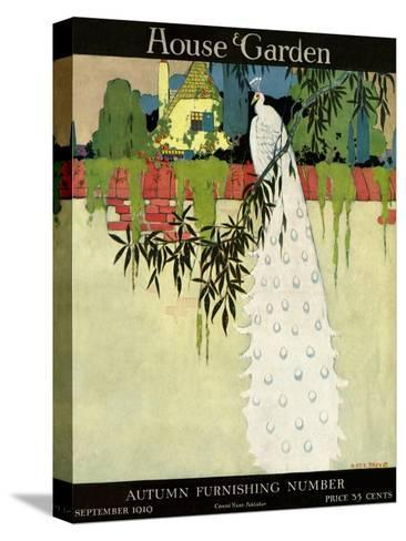 House & Garden Cover - September 1919-H. George Brandt-Stretched Canvas Print