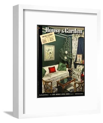 House & Garden Cover - May 1941-Urban Weis-Framed Art Print
