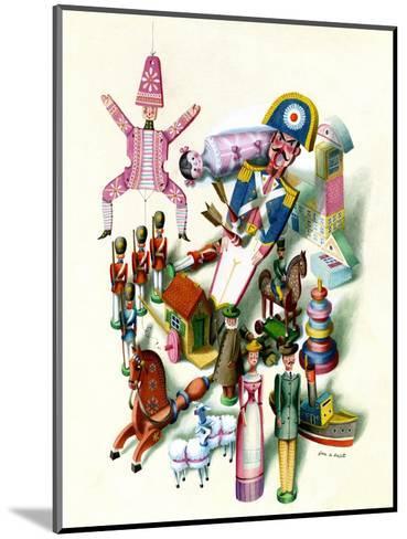 House & Garden - November 1944-Jan B. Balet-Mounted Premium Giclee Print