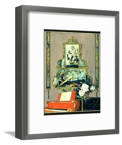 House & Garden - April 1923-Bradley Walker Tomlin-Framed Art Print