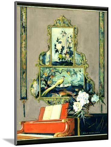 House & Garden - April 1923-Bradley Walker Tomlin-Mounted Premium Giclee Print
