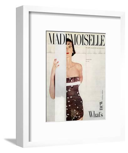 Mademoiselle Cover - January 1951-John Engstead-Framed Art Print