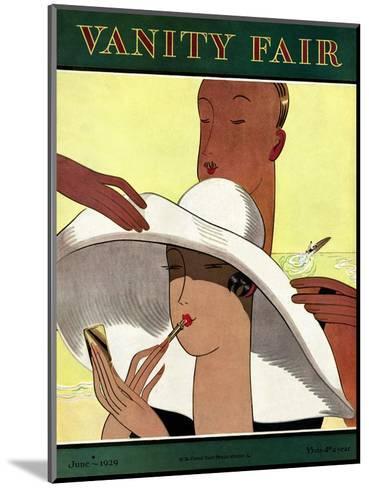 Vanity Fair Cover - June 1929-Marion Wildman-Mounted Premium Giclee Print