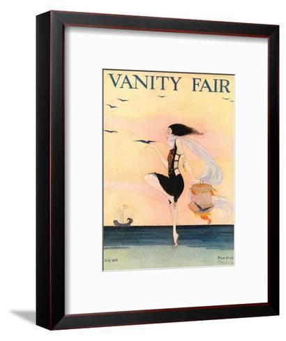 Vanity Fair Cover - July 1916-Rita Senger-Framed Art Print