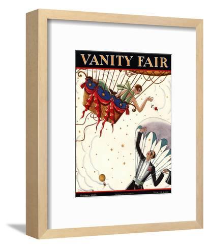 Vanity Fair Cover - October 1925-Stanley W. Reynolds-Framed Art Print