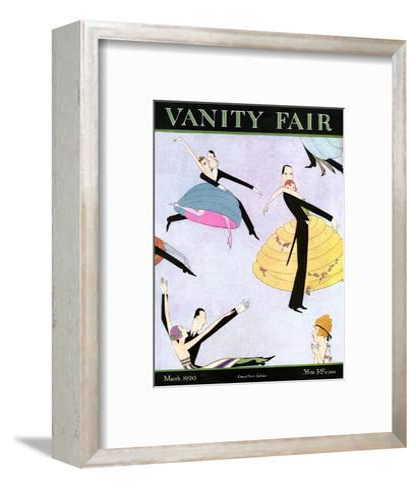Vanity Fair Cover - March 1920--Framed Art Print