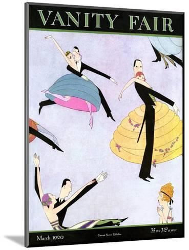 Vanity Fair Cover - March 1920--Mounted Premium Giclee Print