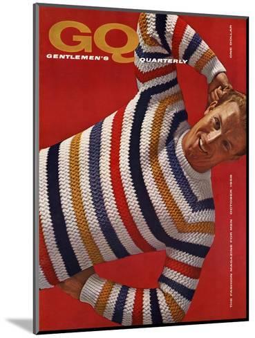 GQ Cover - October 1958-Leonard Nones-Mounted Premium Giclee Print