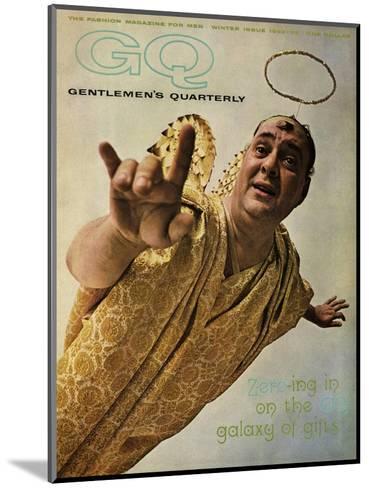 GQ Cover - December 1962-Art Kane-Mounted Premium Giclee Print