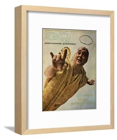 GQ Cover - December 1962-Art Kane-Framed Art Print