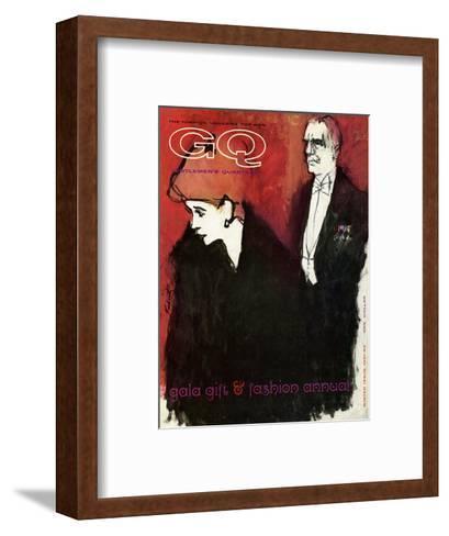 GQ Cover - December 1961-Harlan Krakovitz-Framed Art Print