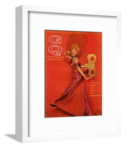 GQ Cover - December 1964-Chadwick Hall-Framed Art Print