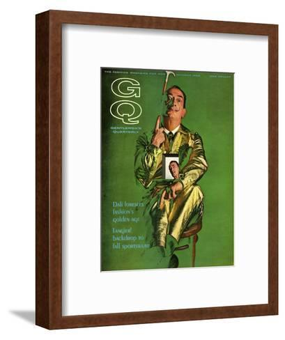 GQ Cover - October 1963-Chadwick Hall-Framed Art Print