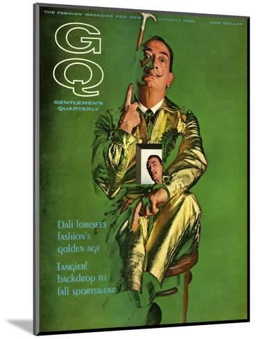 GQ Cover - October 1963-Chadwick Hall-Mounted Premium Giclee Print