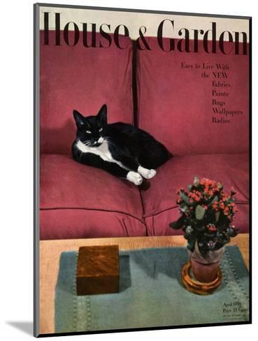 House & Garden Cover - April 1946-Andr? Kert?sz-Mounted Premium Giclee Print