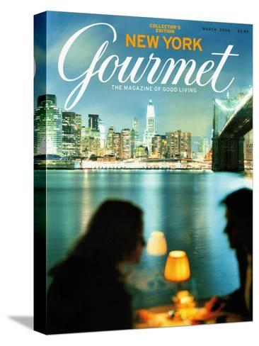 Gourmet Cover - March 2004-Andrea Fazzari-Stretched Canvas Print