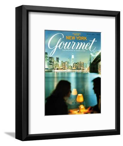 Gourmet Cover - March 2004-Andrea Fazzari-Framed Art Print