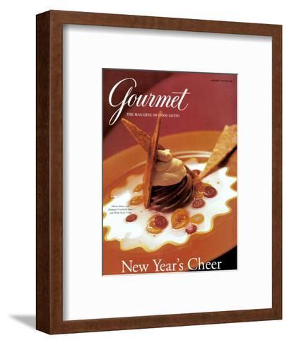 Gourmet Cover - January 1997-Romulo Yanes-Framed Art Print