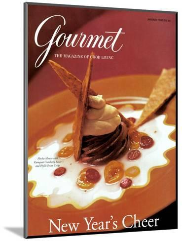 Gourmet Cover - January 1997-Romulo Yanes-Mounted Premium Giclee Print