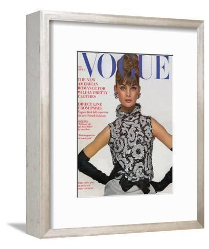 Vogue Cover - September 1963-Bert Stern-Framed Art Print