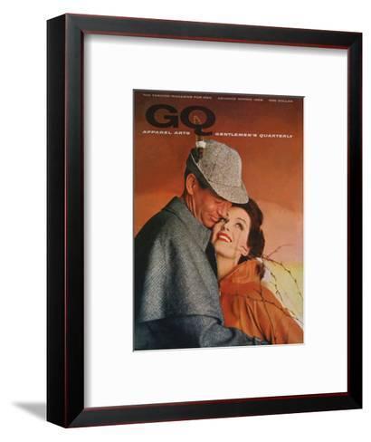 GQ Cover - January 1958-Emme Gene Hall-Framed Art Print