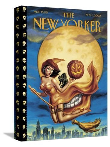 New Yorker Cover - November 06, 2000-Owen Smith-Stretched Canvas Print