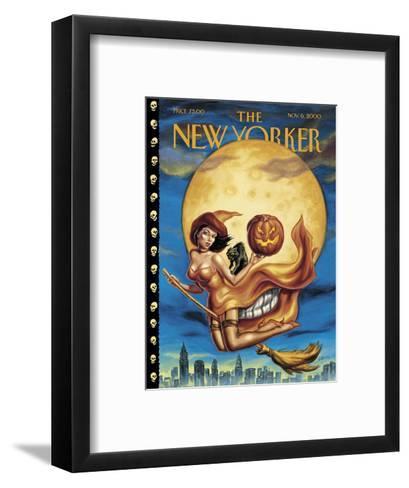 New Yorker Cover - November 06, 2000-Owen Smith-Framed Art Print