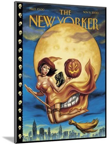 New Yorker Cover - November 06, 2000-Owen Smith-Mounted Premium Giclee Print