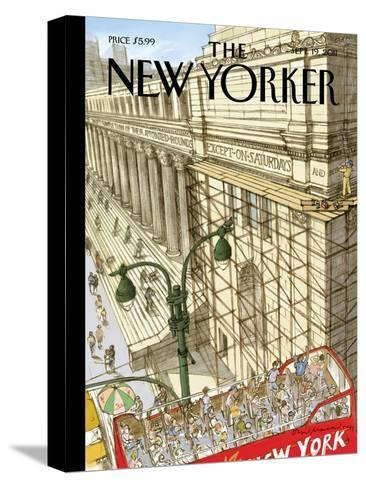 New Yorker Cover - September 19, 2011-David Macaulay-Stretched Canvas Print