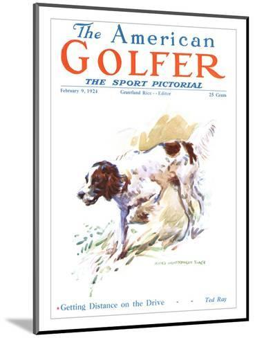 The American Golfer February 9, 1924-James Montgomery Flagg-Mounted Premium Giclee Print