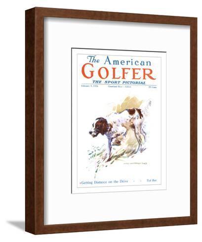 The American Golfer February 9, 1924-James Montgomery Flagg-Framed Art Print