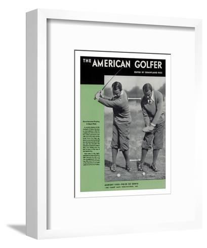 The American Golfer August 1932--Framed Art Print