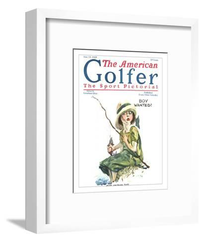 The American Golfer June 13, 1925-James Montgomery Flagg-Framed Art Print