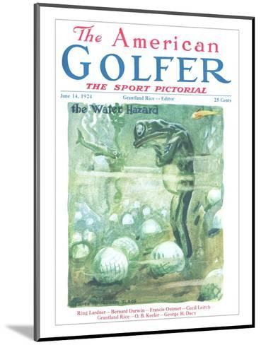 The American Golfer June 14, 1924-James Montgomery Flagg-Mounted Premium Giclee Print