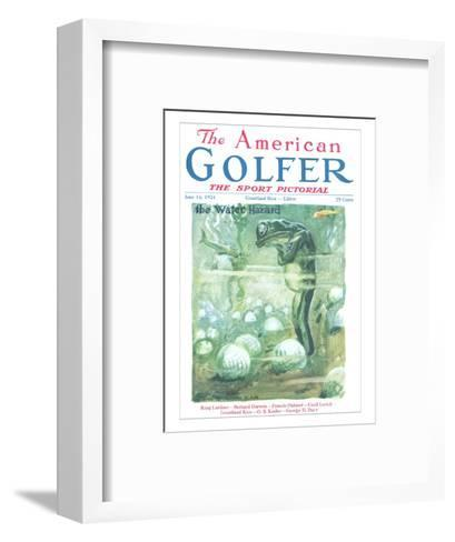 The American Golfer June 14, 1924-James Montgomery Flagg-Framed Art Print
