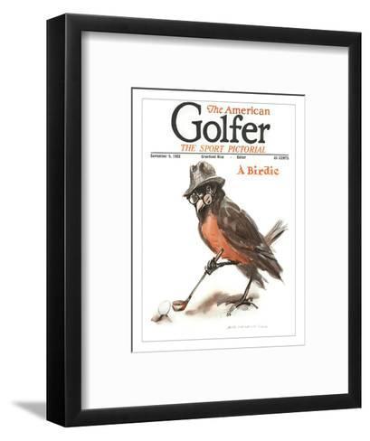 The American Golfer September 9, 1922-James Montgomery Flagg-Framed Art Print