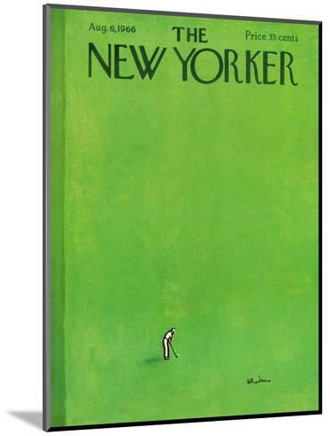 The New Yorker Cover - August 6, 1966-Abe Birnbaum-Mounted Premium Giclee Print