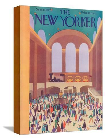 The New Yorker Cover - September 10, 1927-Theodore G. Haupt-Stretched Canvas Print