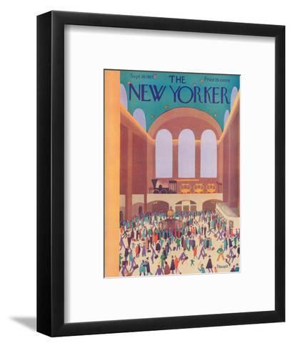 The New Yorker Cover - September 10, 1927-Theodore G. Haupt-Framed Art Print