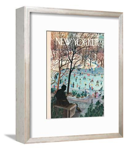 The New Yorker Cover - February 4, 1961-Ilonka Karasz-Framed Art Print