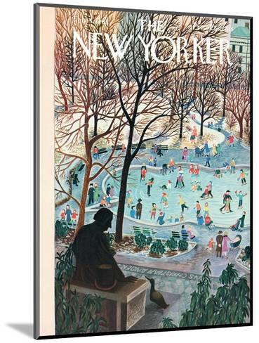 The New Yorker Cover - February 4, 1961-Ilonka Karasz-Mounted Premium Giclee Print